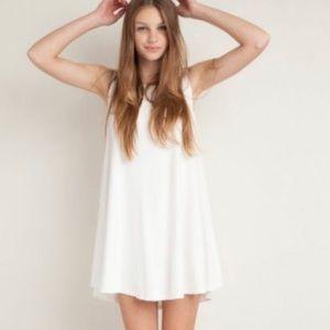 White Brandy Melville Dress